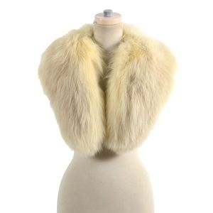 Big & Fluffy Genuine Fox Fur Coat Collar